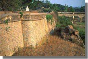 The state of Mysore in southern India centred on the island fortress of Srirangapatna, Tipu's capital.