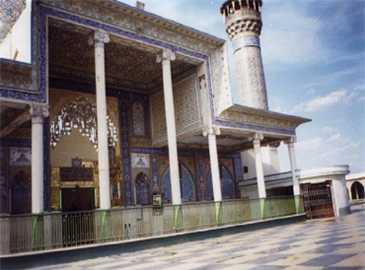 Shrine of Imam Ali an-Naqi al-Hadi (a) in Samarra, Iraq.