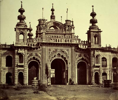 Great Gateway of the Kaiserbagh in Lucknow
