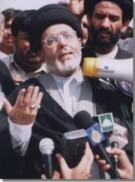 Agha Syed Musavi addressing the media after the Bari Imam Terror attack in Pakistan on 27th May 2005. By TNFJ