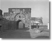 Karar Fort, built in 1360 East Gate on outside