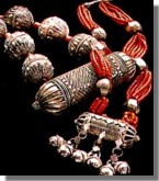 Silver jewelery. Courtesy of Dr Shuja