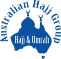 Logo Australian Hajj Group. Provided by Hj Ali Nasour, Sydney