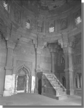 Lal Darwaza Masjid Prayer Room from the centre
